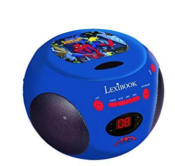 radio cd spiderman