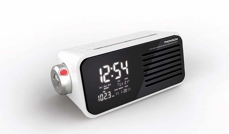 radio reveil projecteur thomson