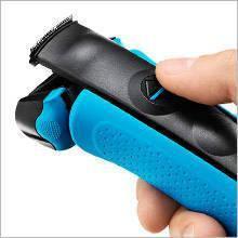 rasoir braun avec tondeuse