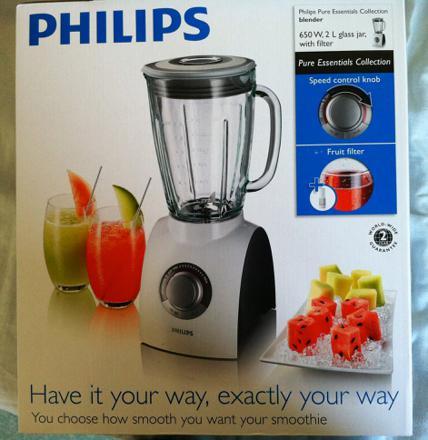 recette blender philips