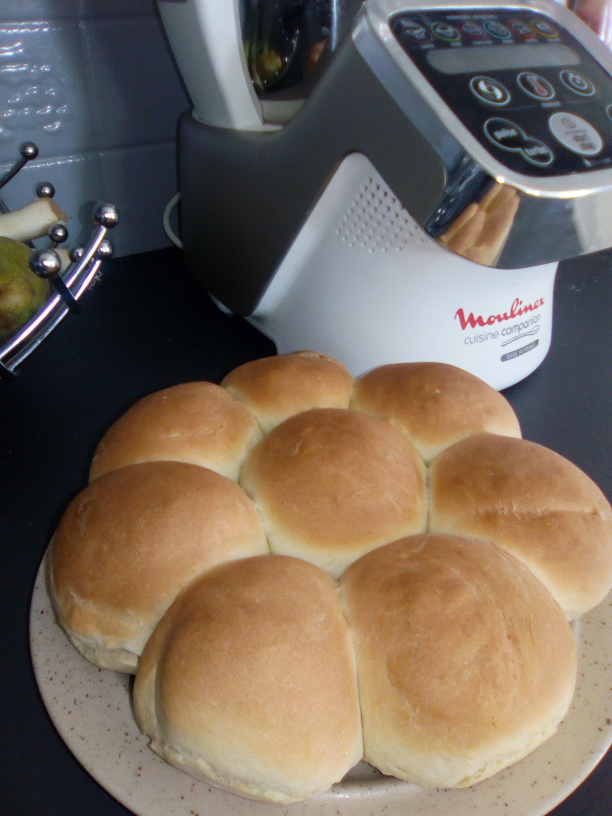 recette pain moulinex