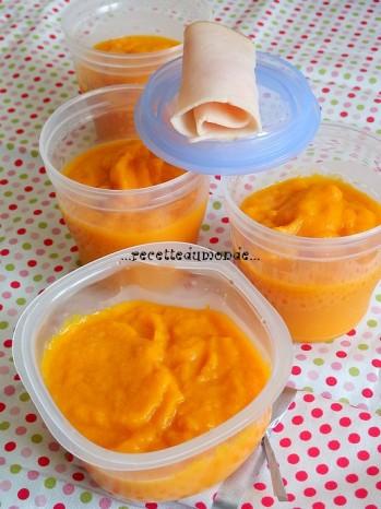recette petit pots bébé 6 mois