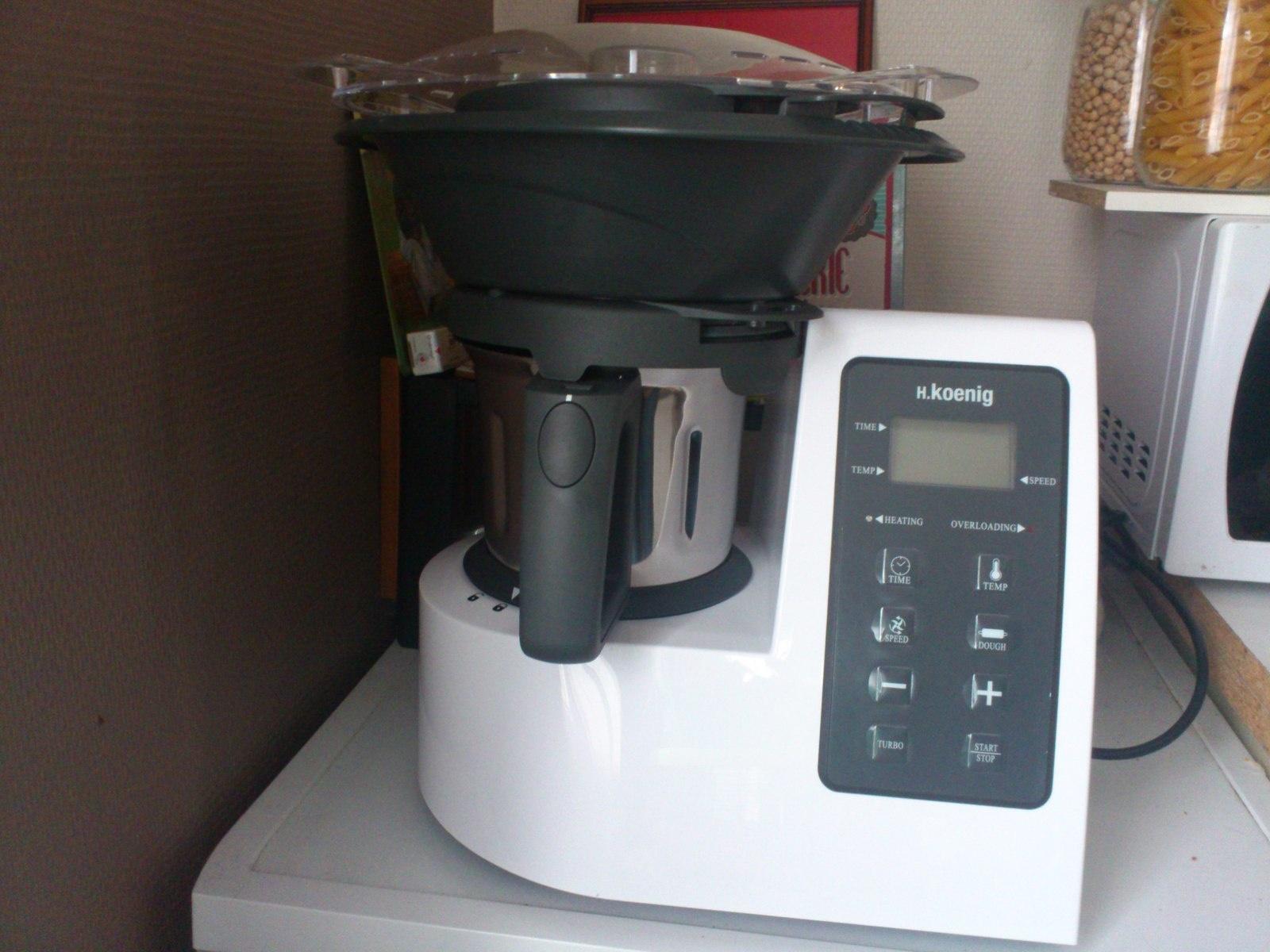recette robot cuiseur koenig