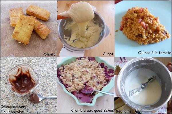 recettes companion moulinex