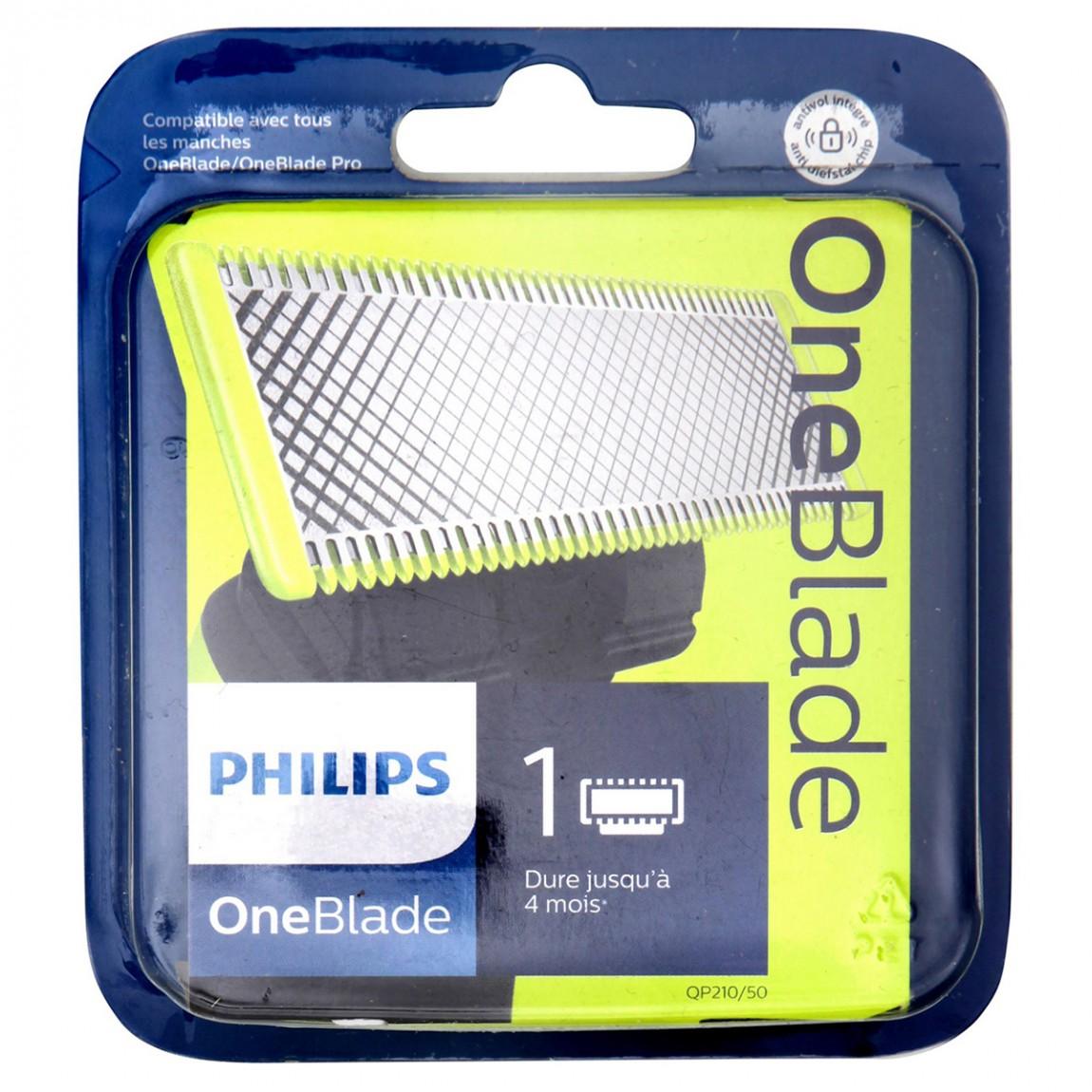 recharge rasoir philips