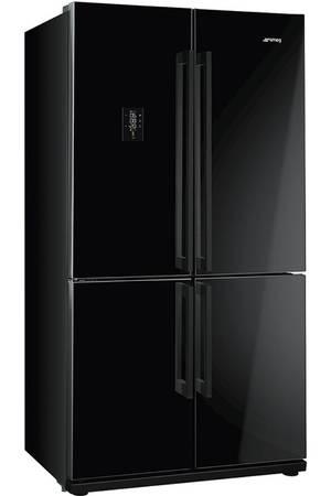 refrigerateur noir 2 portes