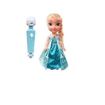 reine des neiges avec micro