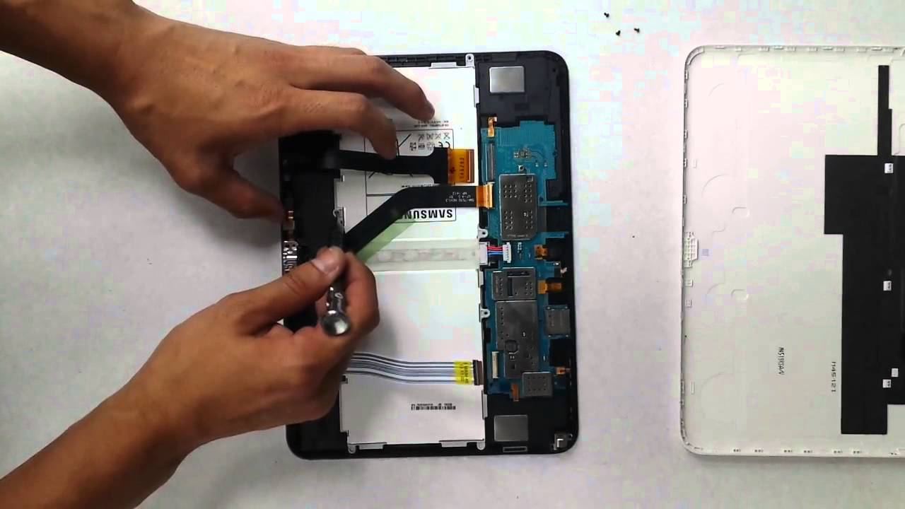 remplacement batterie samsung galaxy tab 4
