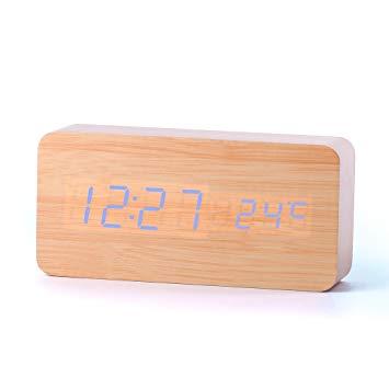 reveil design bois