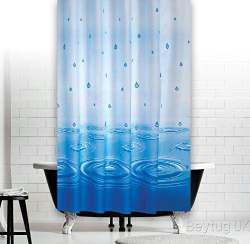 rideau de douche extra long