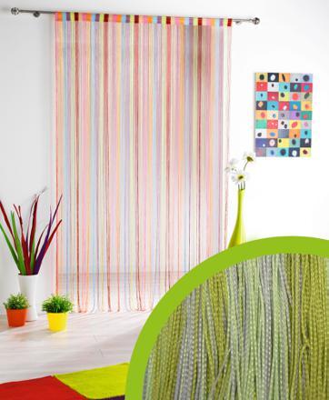 rideau multicolor