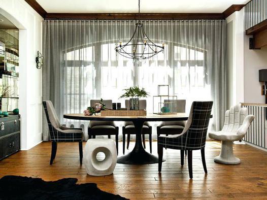 rideau pour salle à manger