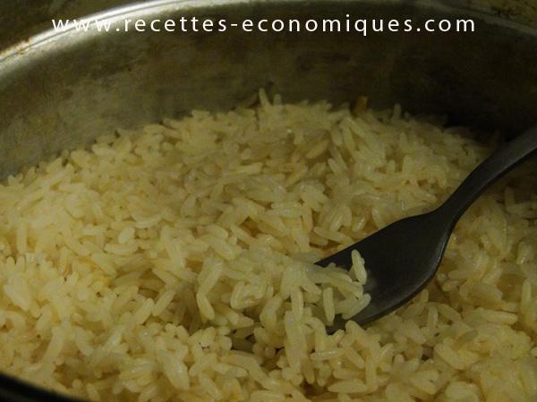 riz à la cocotte minute vapeur