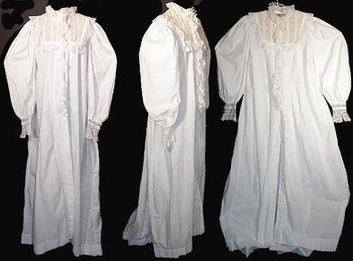 robe de chambre ancienne