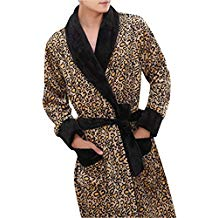 robe de chambre leopard