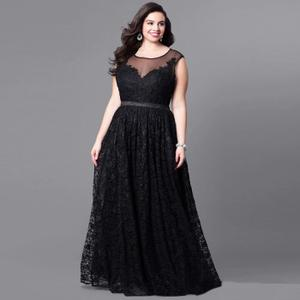 robe de soirée longue grande taille