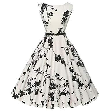 robe vintage année 50 amazon