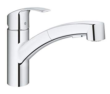 robinet evier douchette grohe