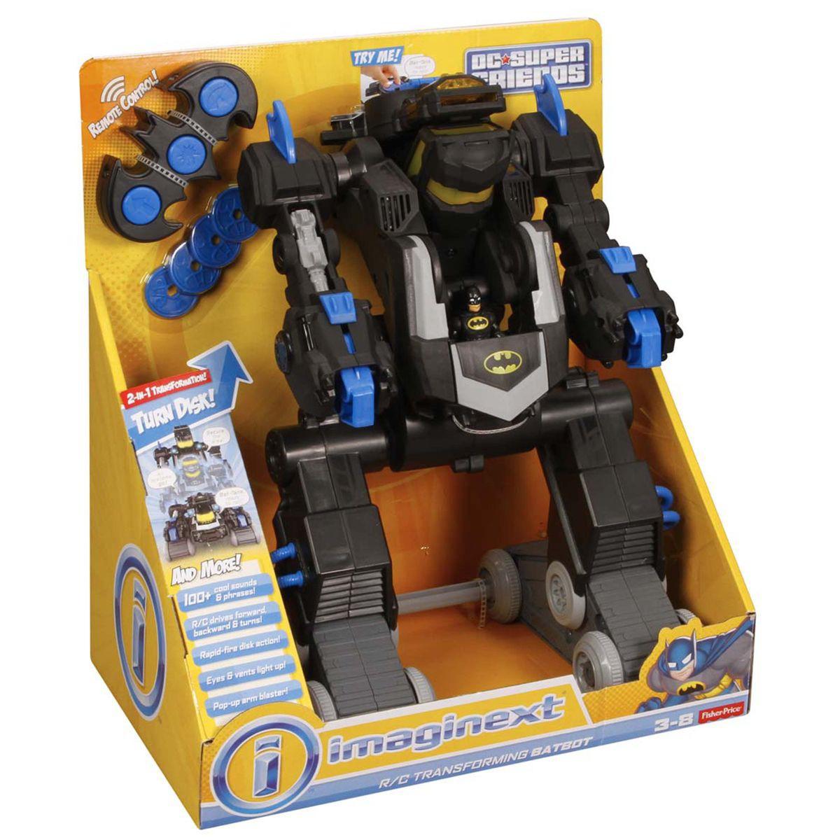 robot batman radiocommandé