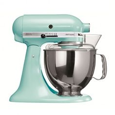 robot kitchenaid bleu