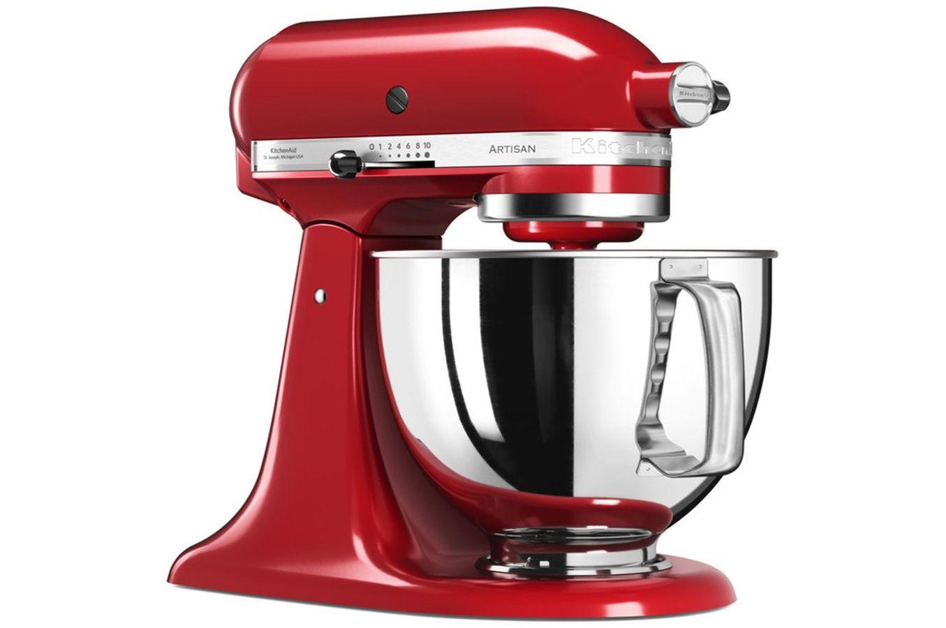robot kitchenaid rouge