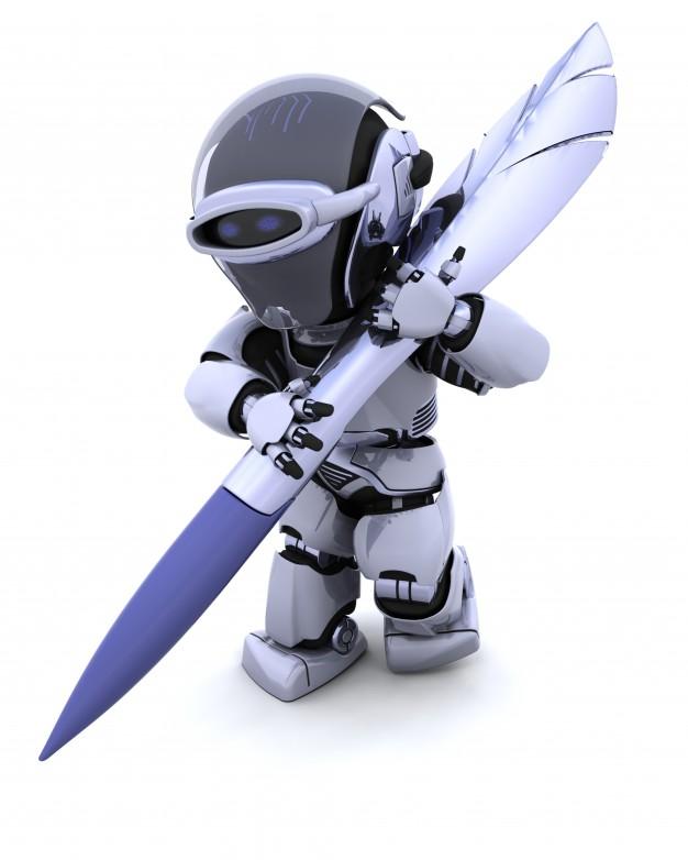 robot signature