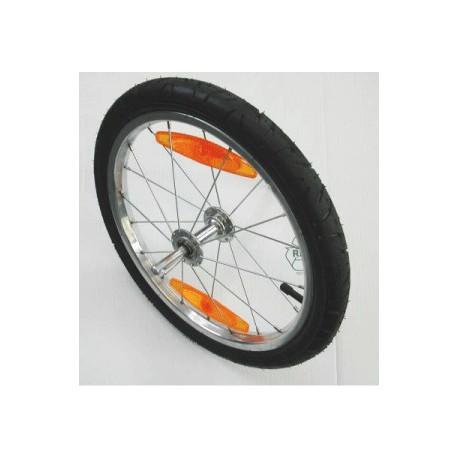 roue remorque velo 16 pouces