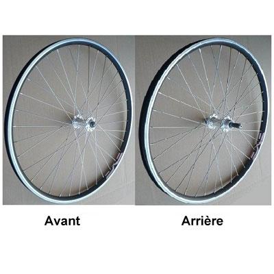 roue vtt arriere 26