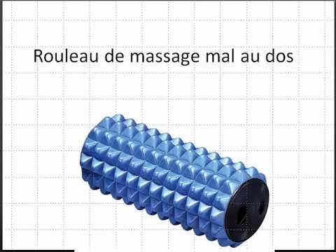 rouleau de massage pour le dos