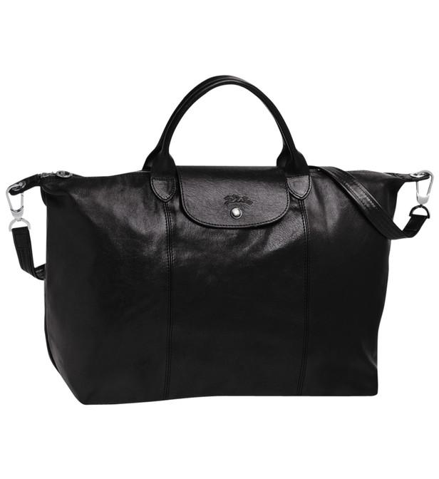 sac à main longchamp cuir