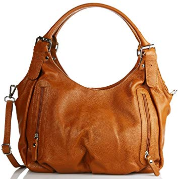 sac à main marron cuir