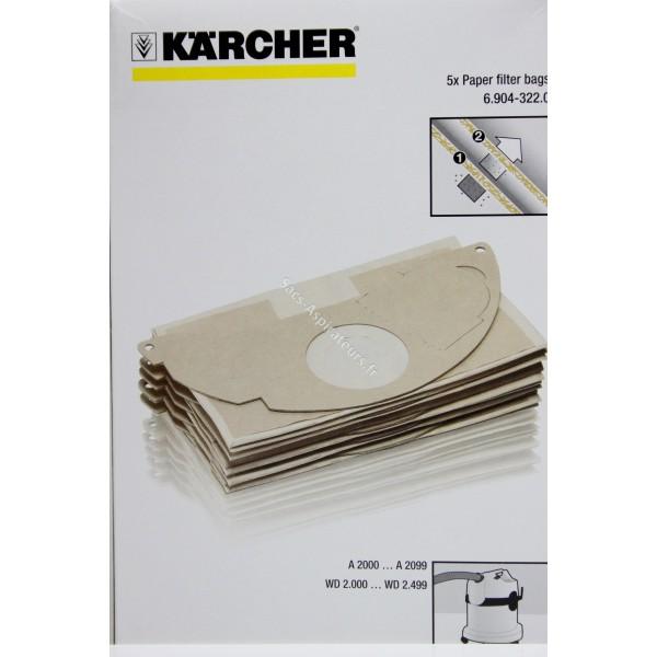sac aspirateur karcher 6.904-322.0