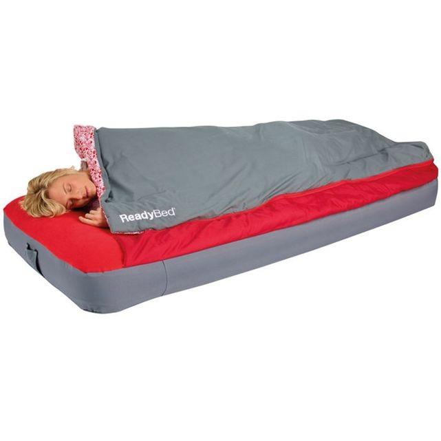 sac couchage avec matelas intégré