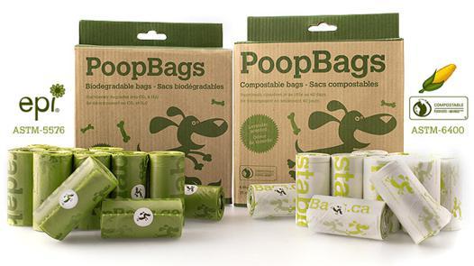 sacs à crottes biodégradable
