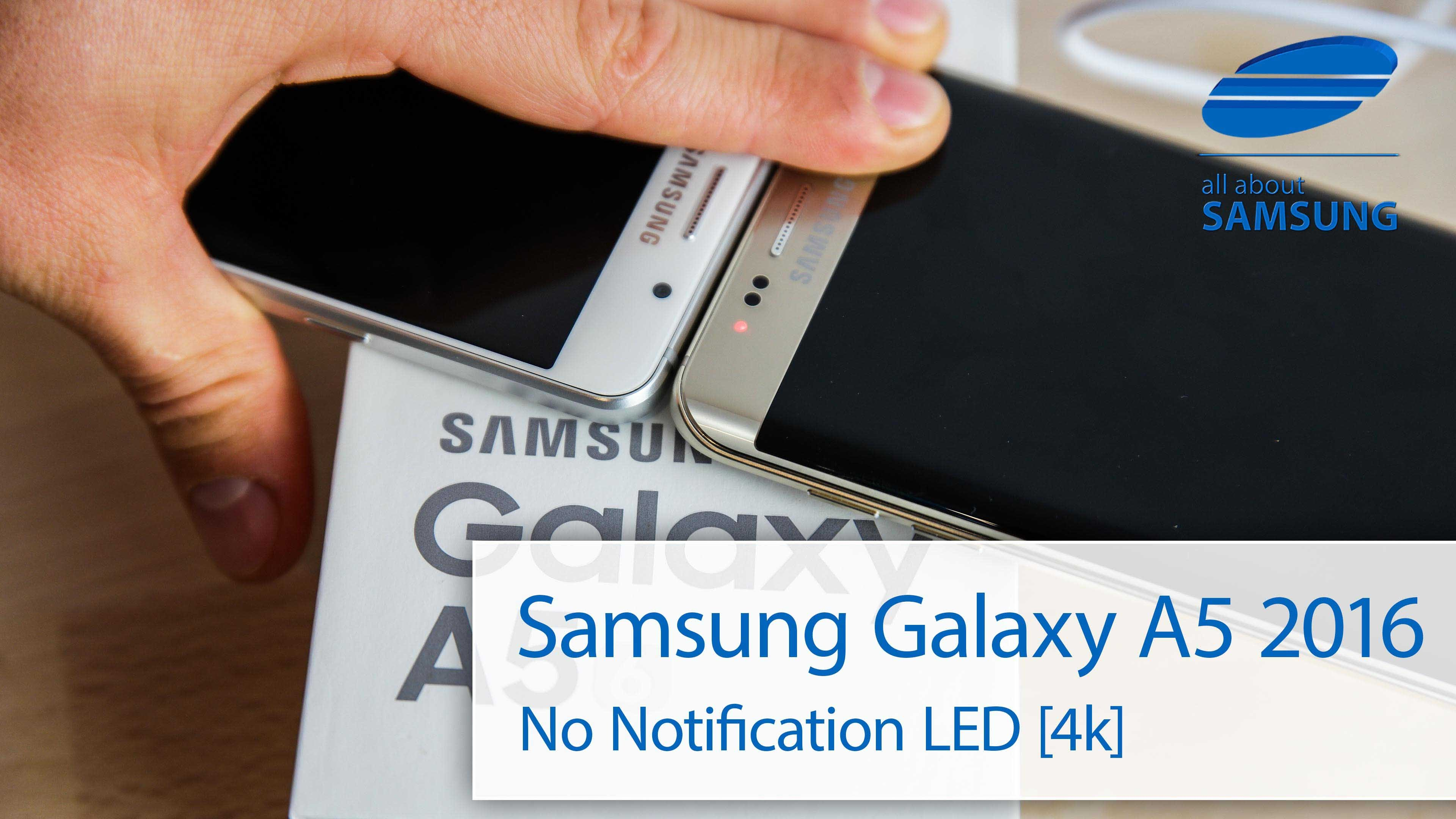 samsung a5 led de notification