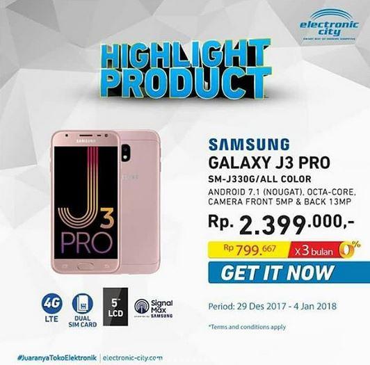 samsung j3 promotion