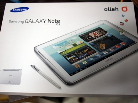 samsung tablette galaxy note 10.1