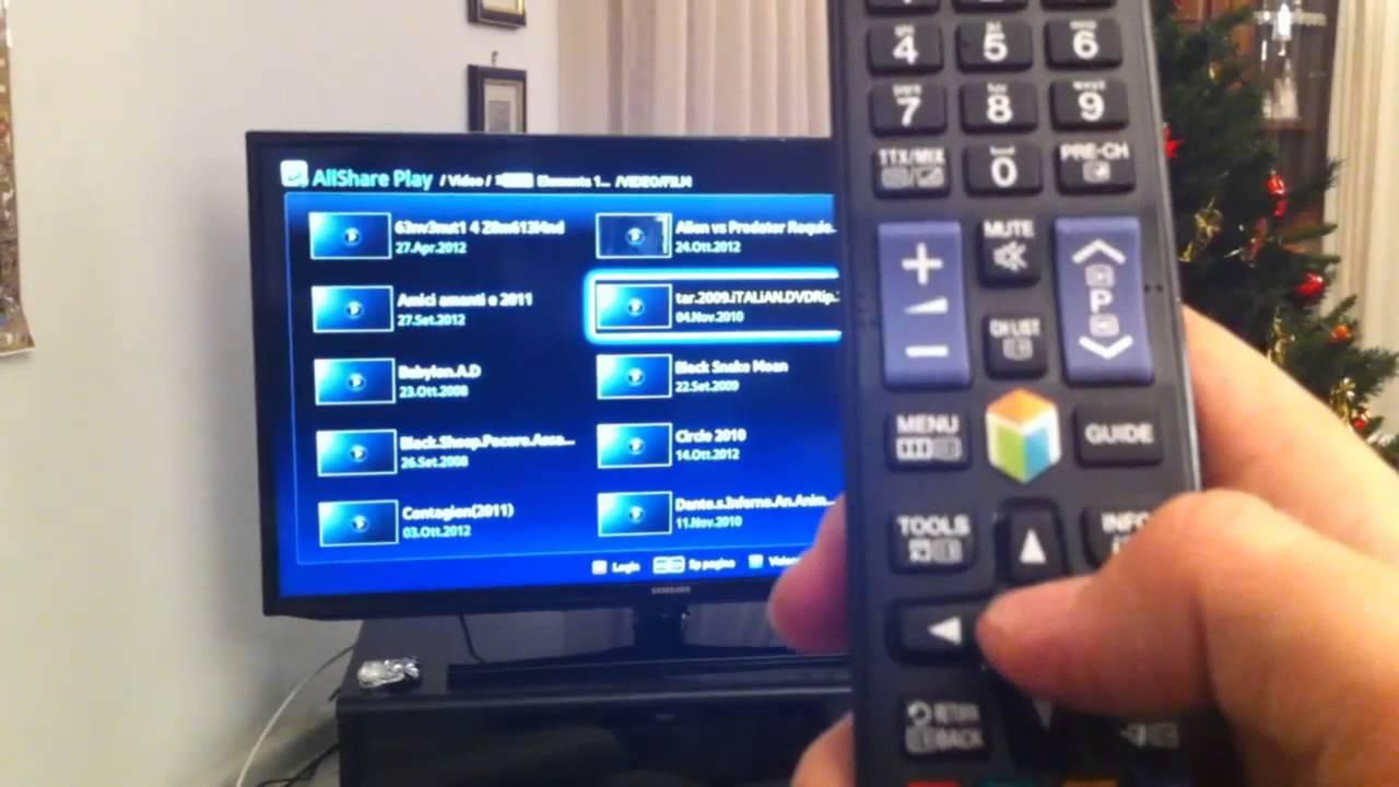 samsung tv hdd