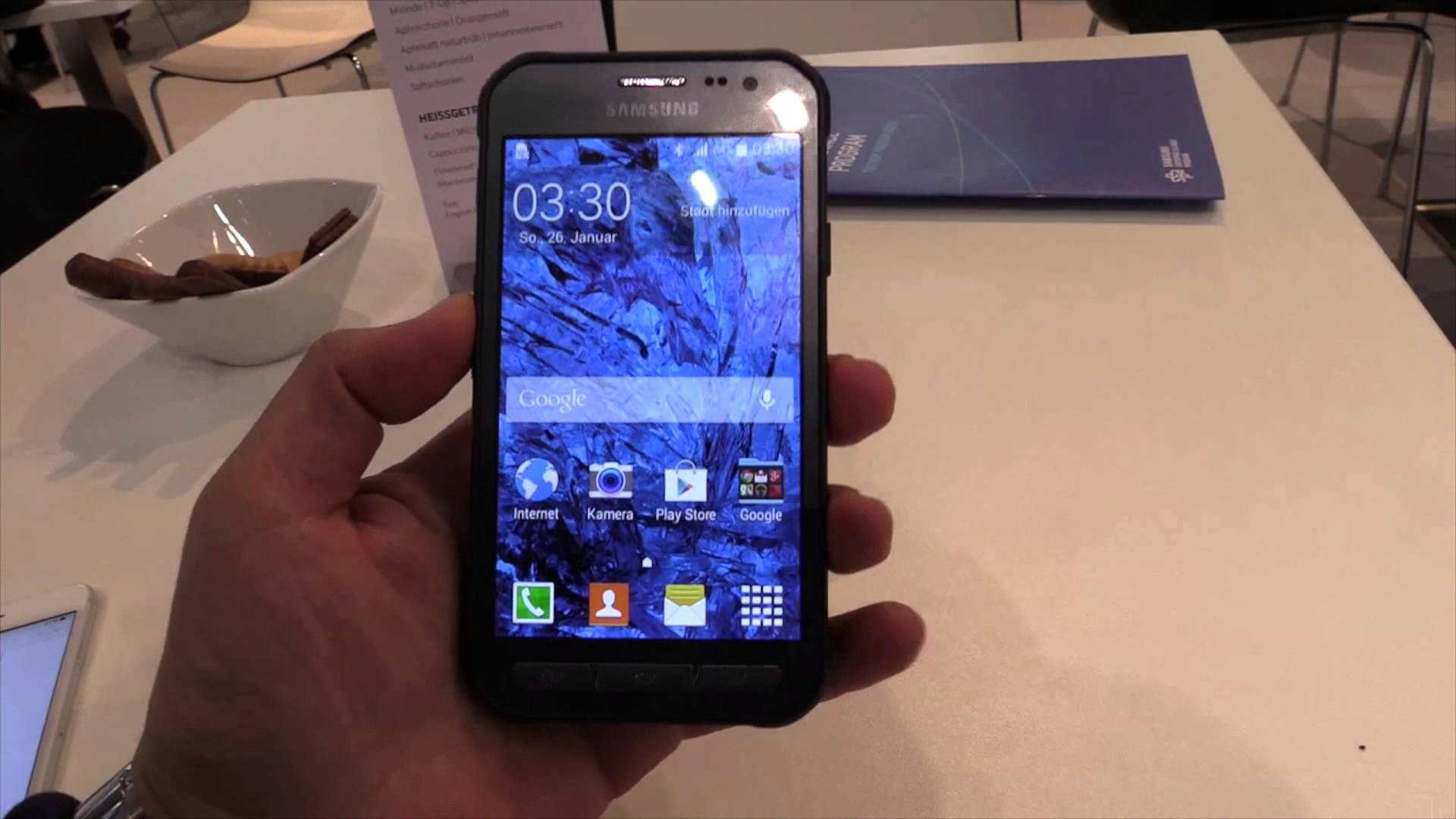 samsung xcover 3 test