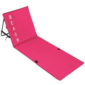 serviette de plage avec dossier