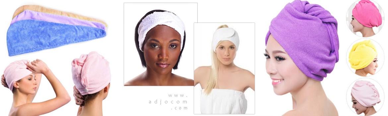 serviette pour secher cheveux