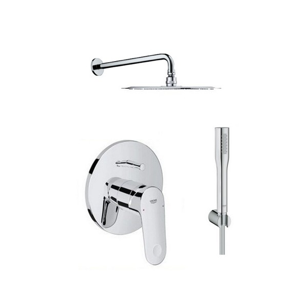 set douche encastrable