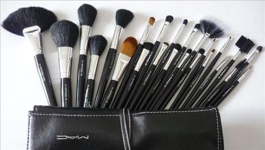 set pinceaux maquillage mac