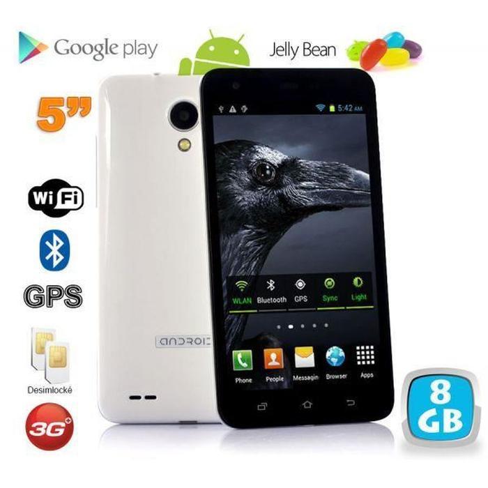smartphone 5 pouces pas cher