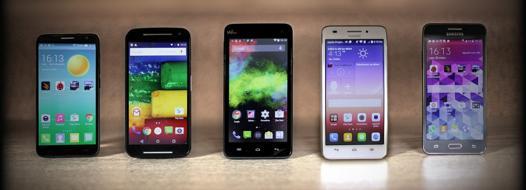 smartphone moins de 200