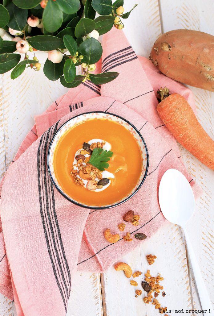 soupe au cuit vapeur