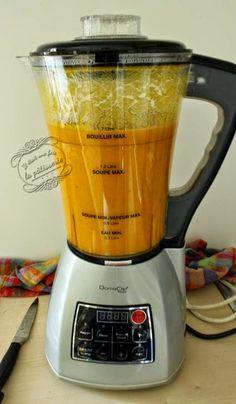 soupe blender recette