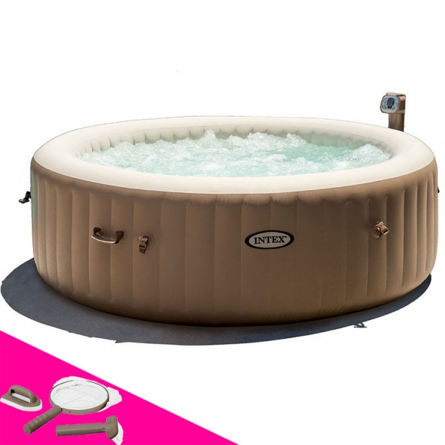 spa gonflable 4 places intex