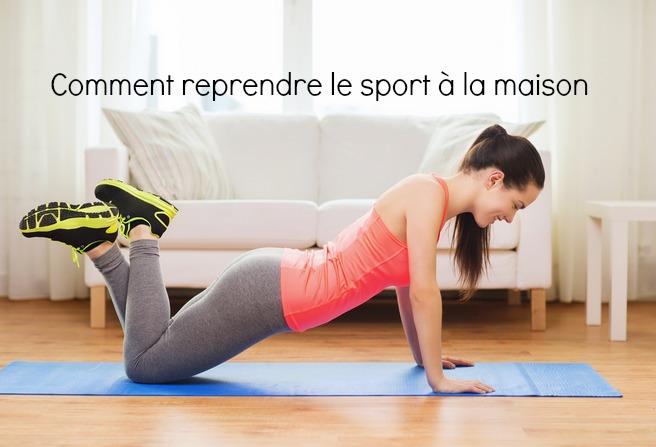 sport fitness a la maison