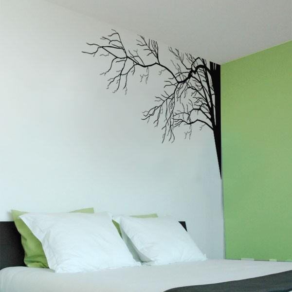 sticker mural branche d'arbre
